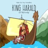 When young Harald Fairhair heard that he wasn't powerful enough to marry the princess of his dreams, he knew exactly what he had to do. King Harald of Norway is the extraordinary tale of a bold young man whose ambition and resolve gave rise to one of the world's most successful nations. This Tale for Tiny Travellers retails for $7.99 and is available from Amazon.com, Amazon Europe, Amazon UK, and the international Book Depository.